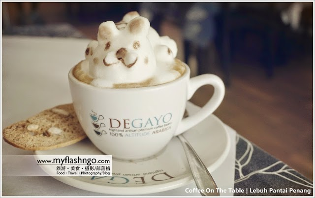 Penang Cafe | Coffee On The Table - 3D 咖啡