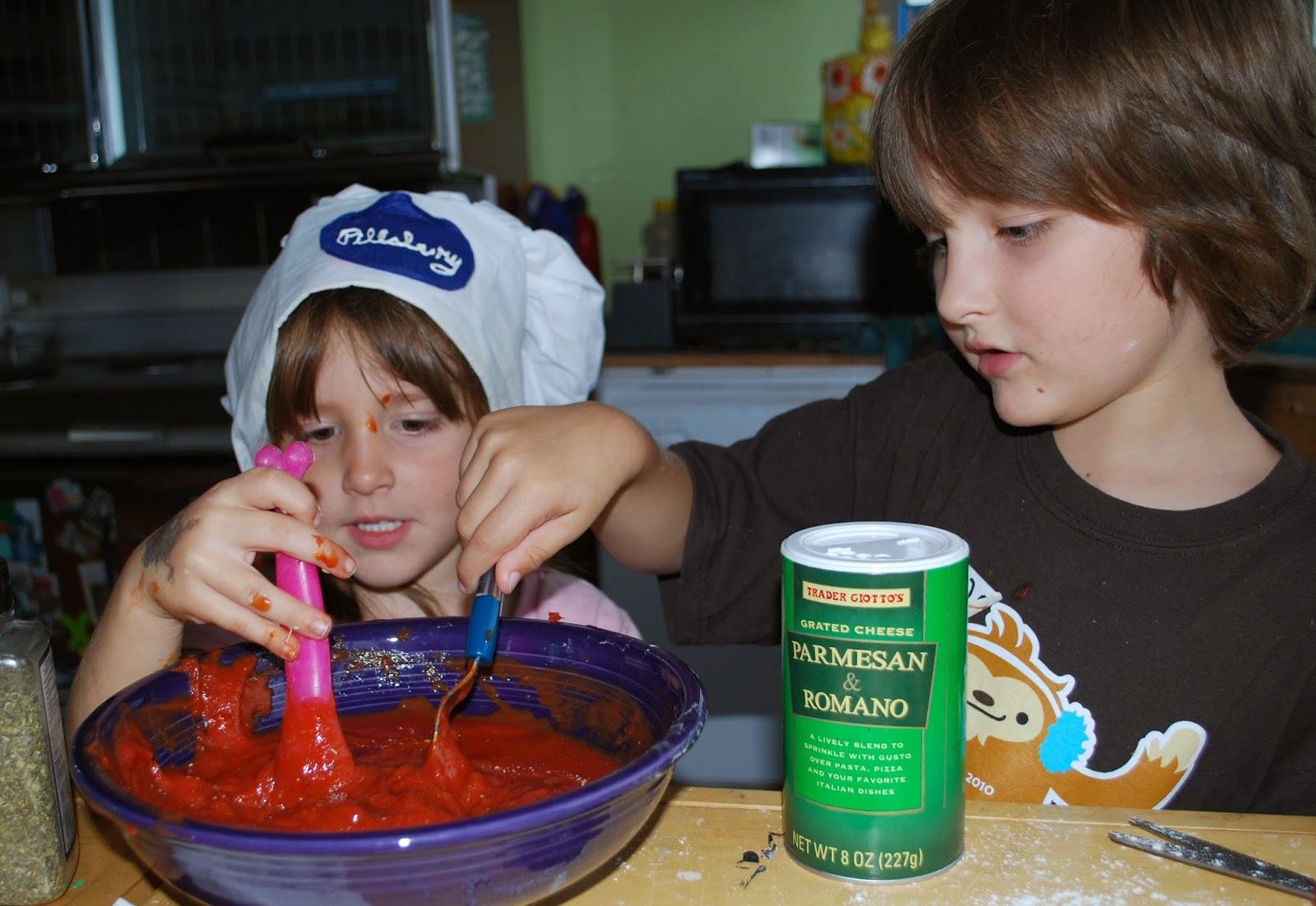 Change The World Wednesday (#CTWW) - Family Cook Day