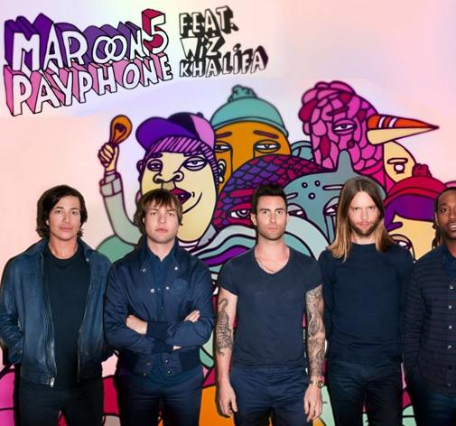 Maroon 5 and wiz khalifa payphone lyrics