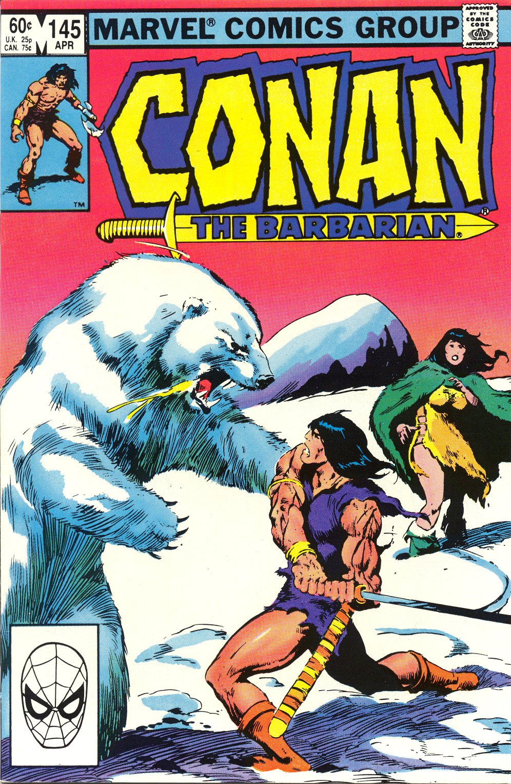Conan the Barbarian (1970) Issue #145 #157 - English 1