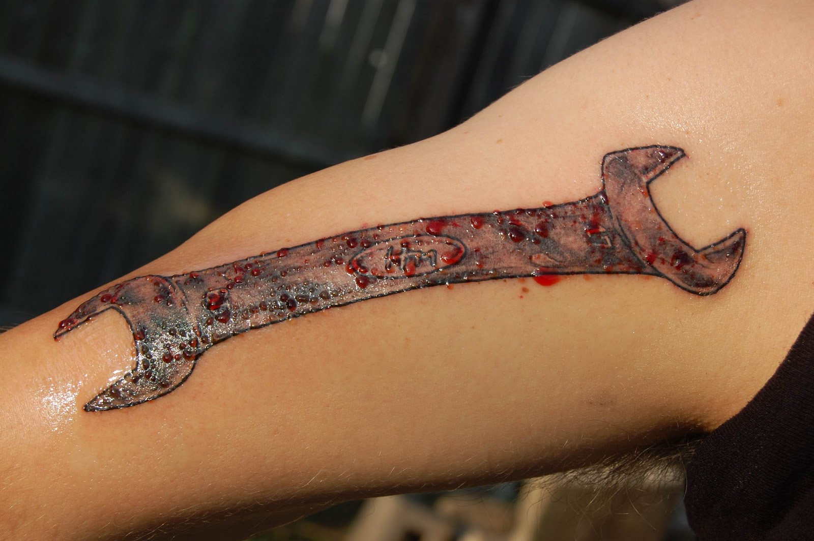 Mechanic Tools Tattoo Designs