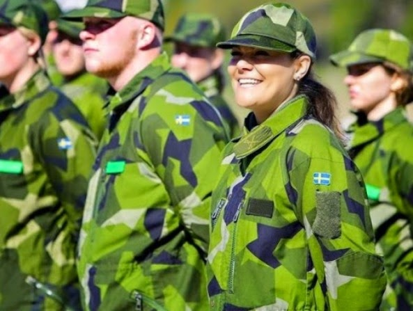 Princess Victoria Participated In Voluntary Military Exercises
