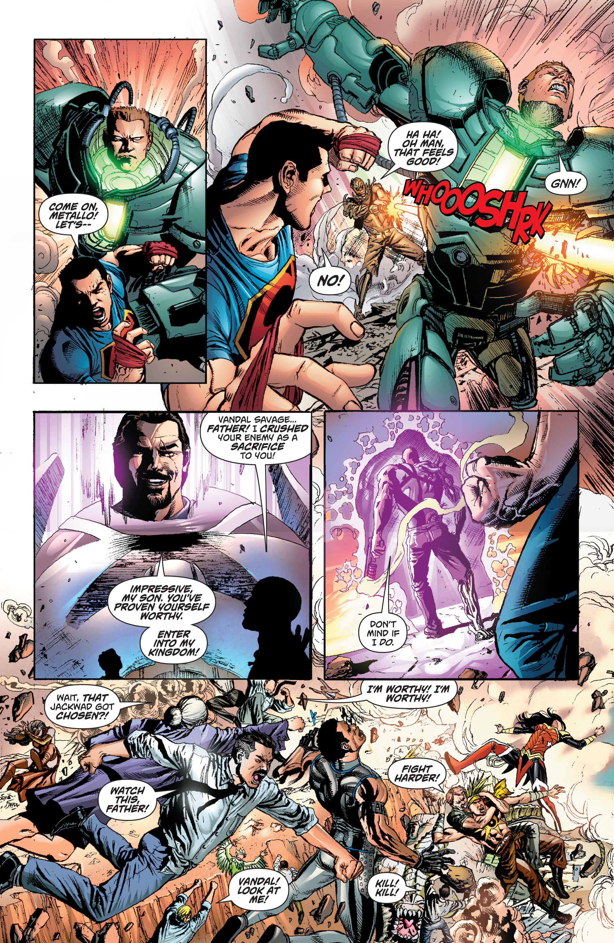 Read online Superman (2011) comic -  Issue #49 - 19
