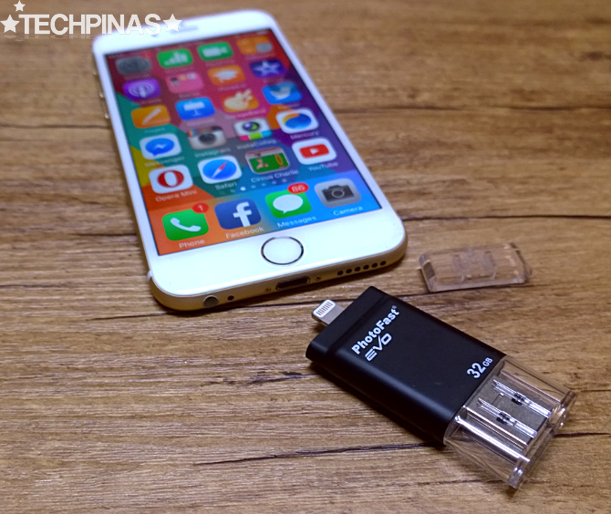 iPhone External Storage, PhotoFast i-FlashDrive