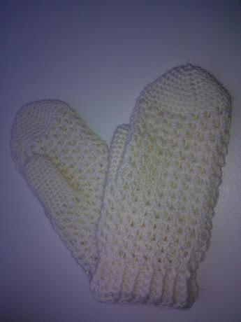 Вязание крючком рукавичек
