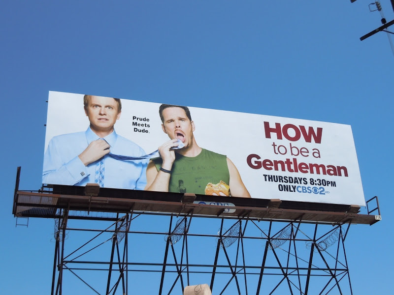 How to be a Gentleman billboard