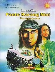 toko buku rahma: buku LEGENDHA PANTE KARANG NINI PANGANDARAN, pengarang hadi, penerbit taufik
