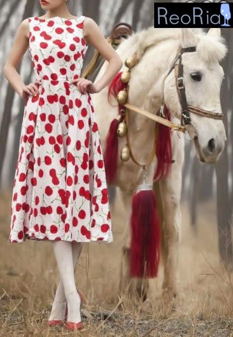 Cherry Dress on ReoRia.com