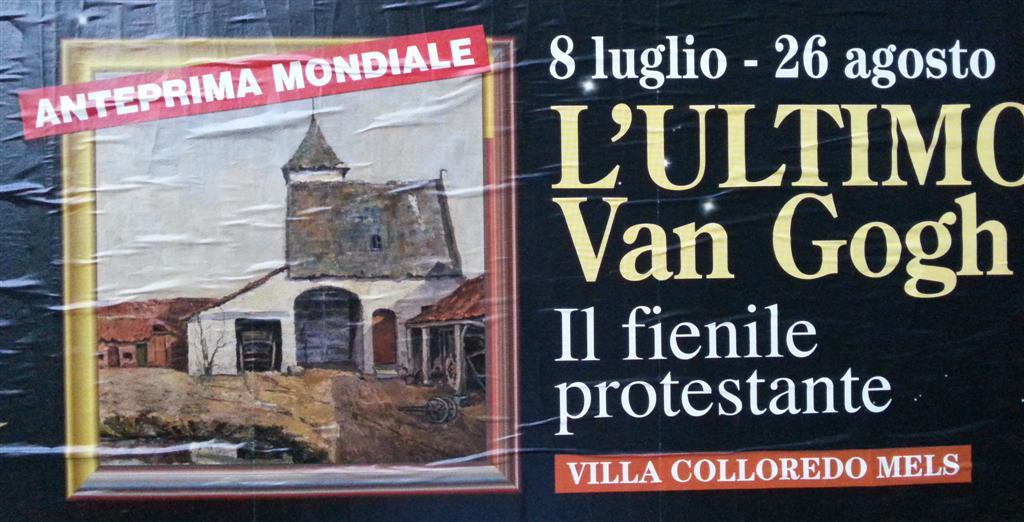 Van Gogh il fienile protestante