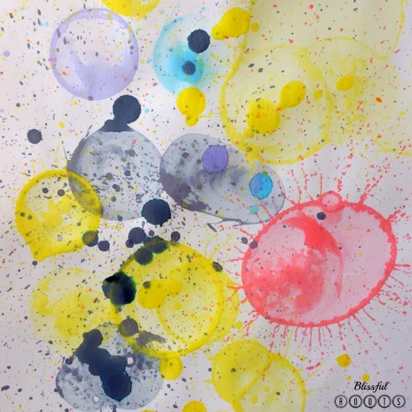 Bubble Art @ Blissful Roots
