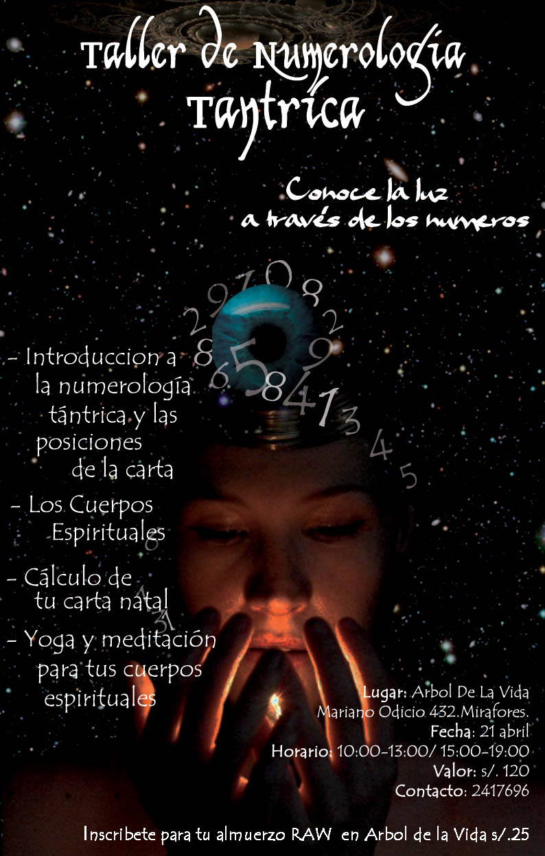 Arbol de la Vida Perú: Taller de Numerología Tántrica