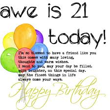 Funny Birthday Quotes For Friends Turning 21 Happy 21st Birthday Qu...