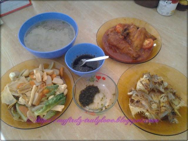 Lunch Time: 3 Resepi Ringkas