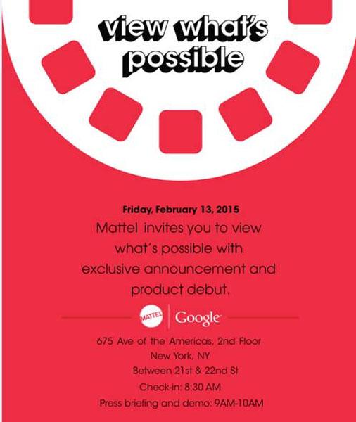 Mattel dan Google Siap Luncurkan Produk Pada 13 Februari