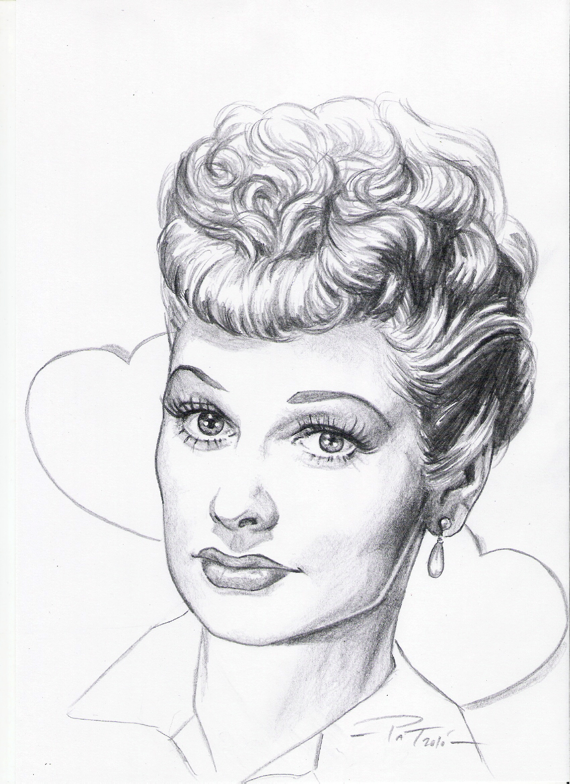Patart comics lucille ball centennial biography for I love lucy coloring pages