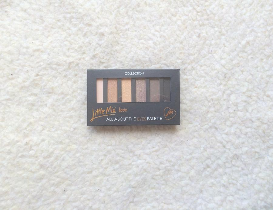 Little Mix All About The Eyes Palette Review and Swatches