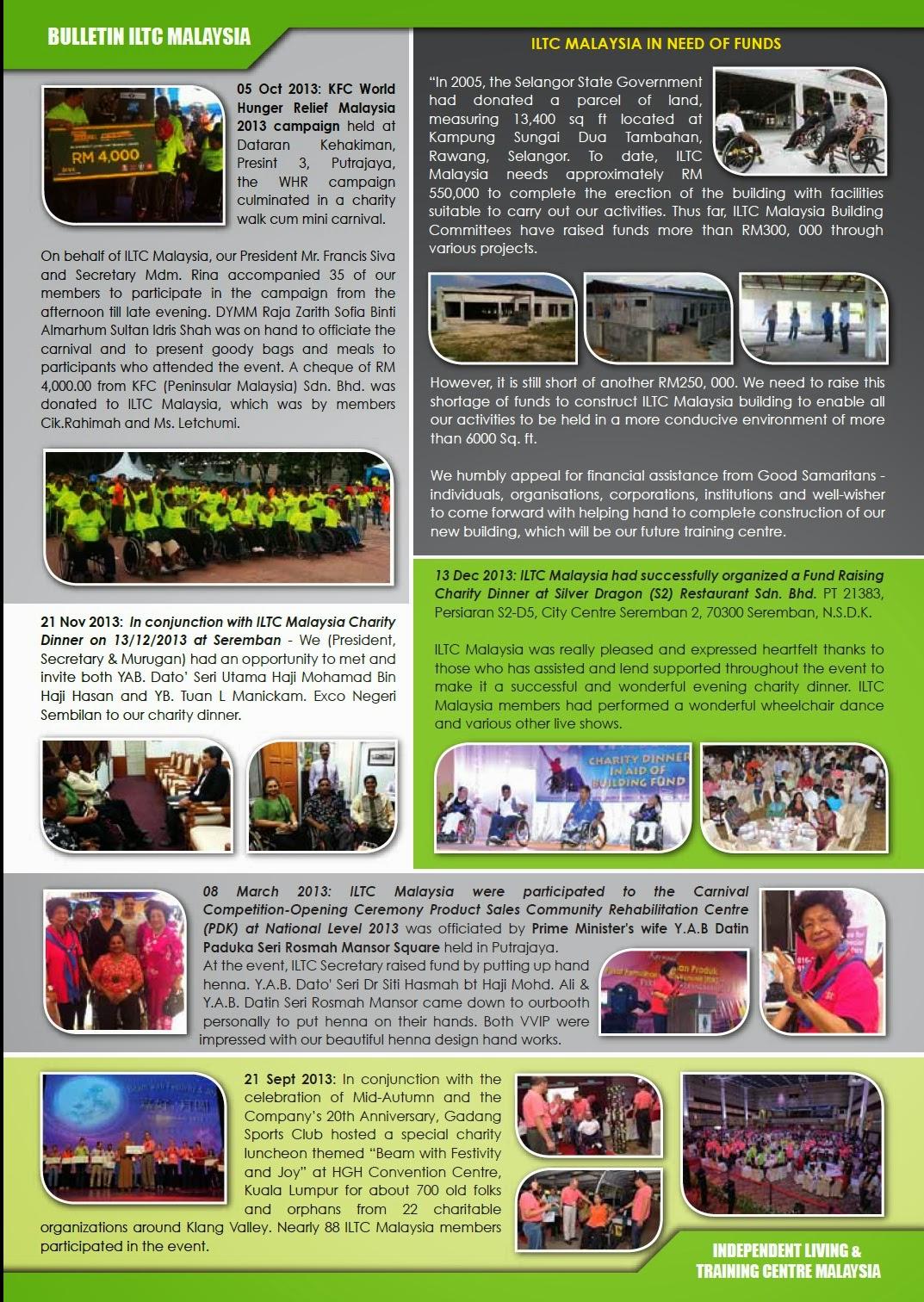 ILTC Malaysia Bulletin 2014 - Page 2
