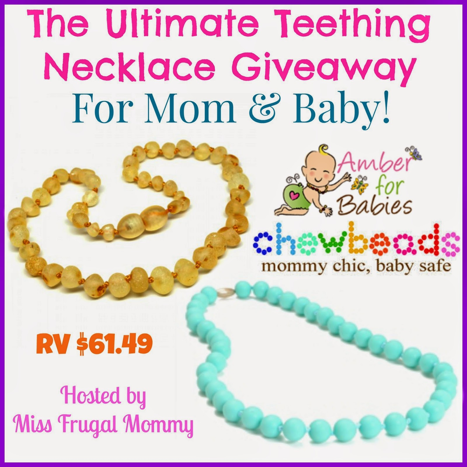 Ultimate Teething Necklace Giveaway