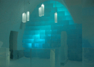 Winter sun or winter wonderland experience? Icehotel