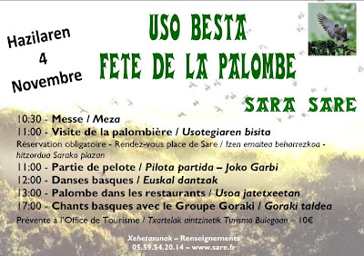 Sare Fête palombe pays basque