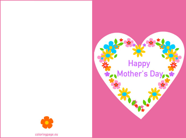 Free Printable Mothers Day Cards 2015  Top 20  Happy Mothers