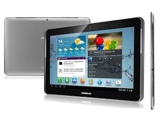 Tablet Android Samsung Galaxy Tab 2 10.1 P5100, Review Spesifikasi Dan Harga