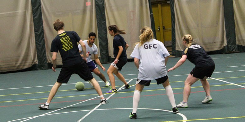 Students play soccer for charity - University of Alberta
