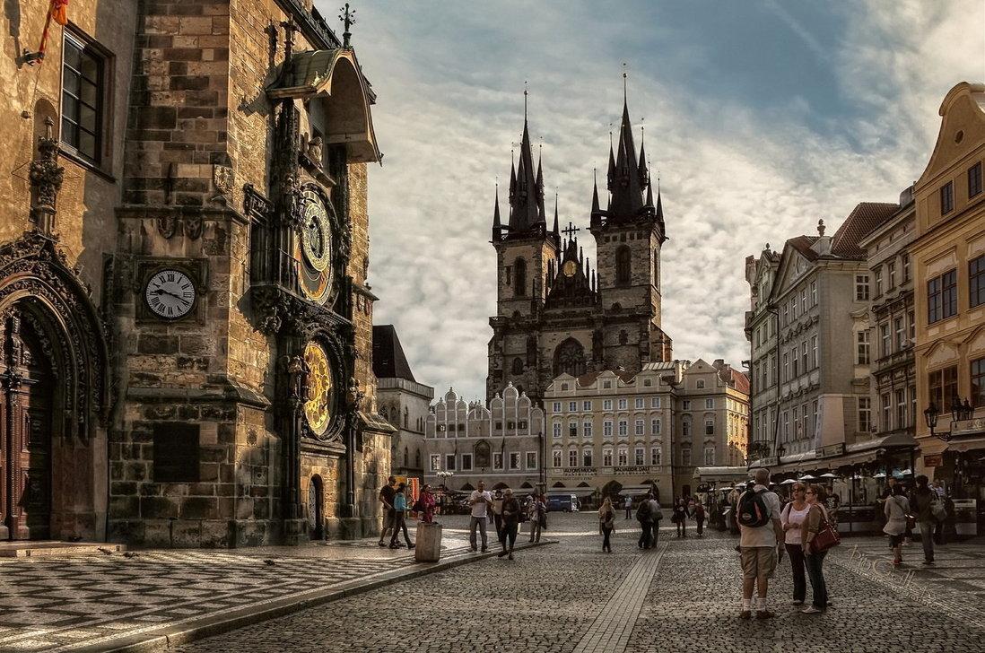 Prague old town for Prague location