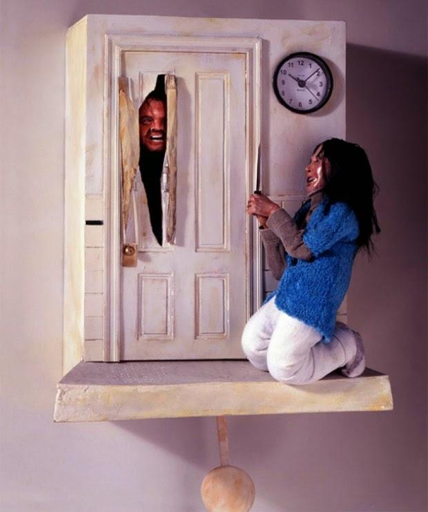 The Shining Cuckoo Clock - Very Neat