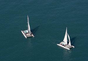 Deporte y aventura, escapa, catamarán, excursiones,
