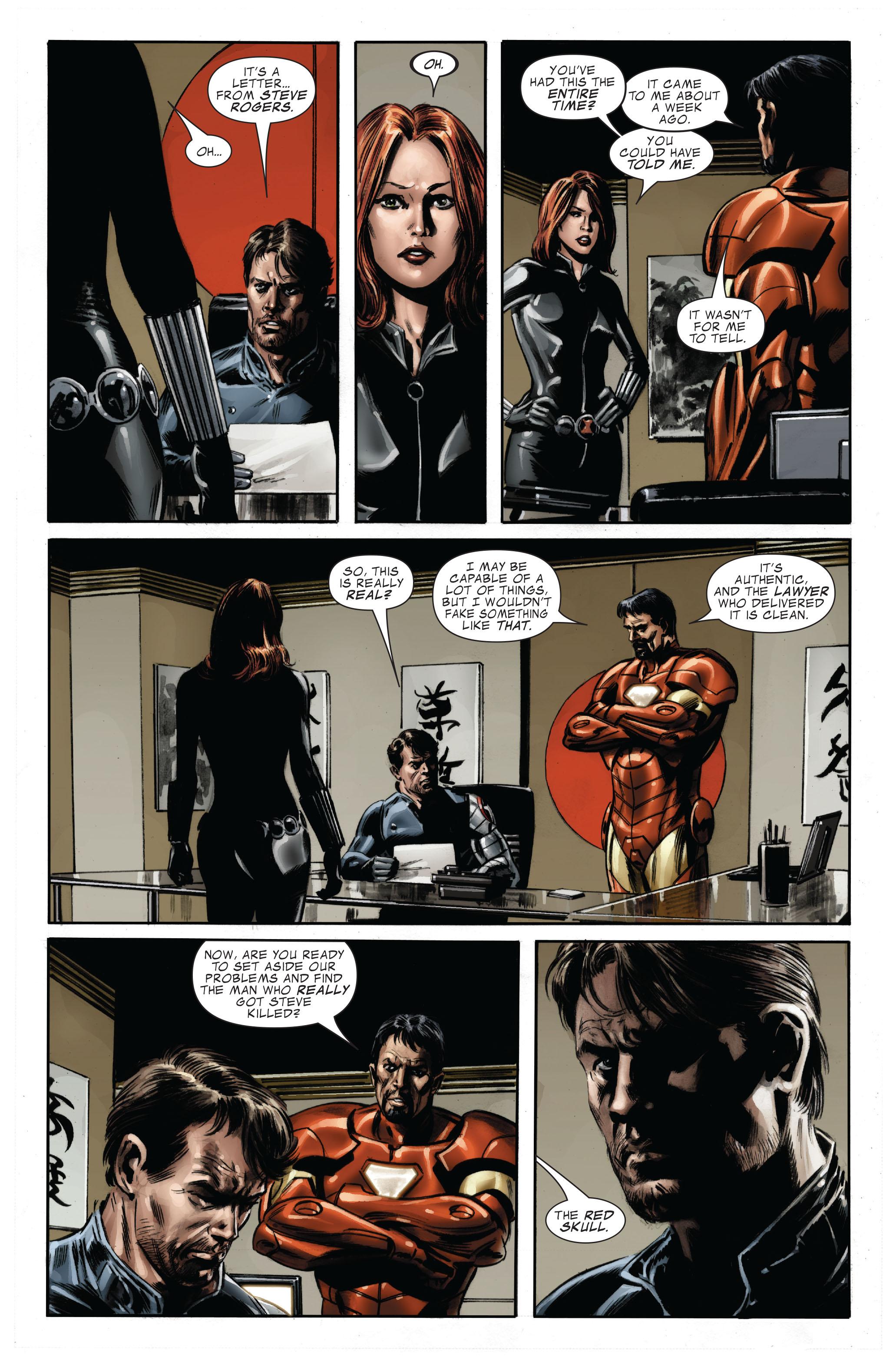 Captain America (2005) Issue #33 #33 - English 20