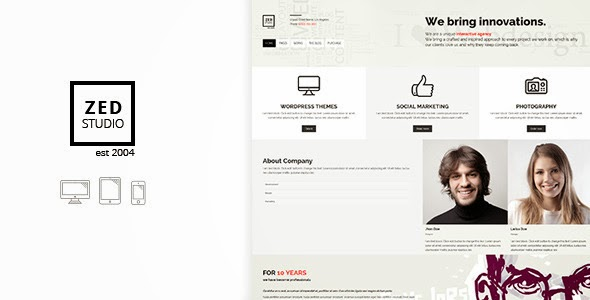 Premium Portfolio and Business Theme