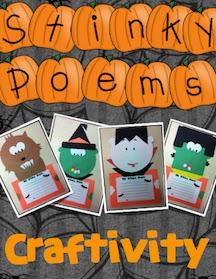 Halloween Craftivity - Today in Second Grade