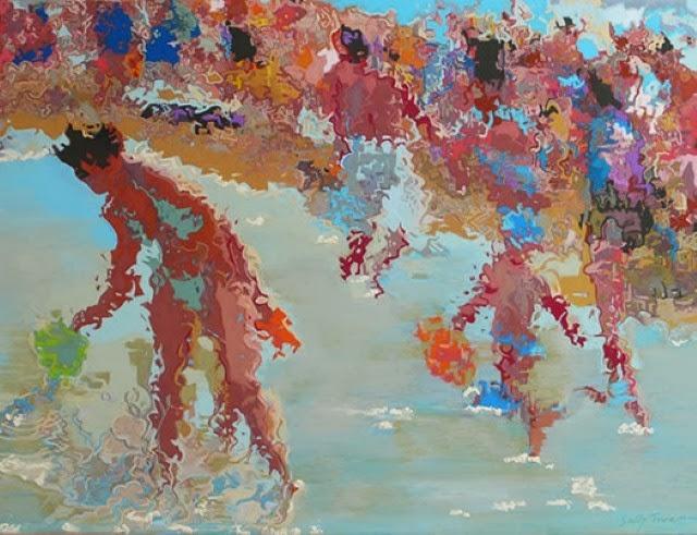 Талантливая британская художница. Sally Trueman