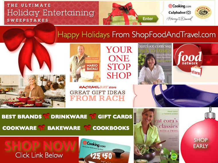Cooking.com And Food Network Perfect Holiday Gifts