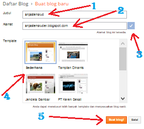 panduan buat blog gratis terbaru 2015