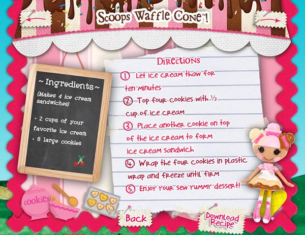 scoop waffle cones
