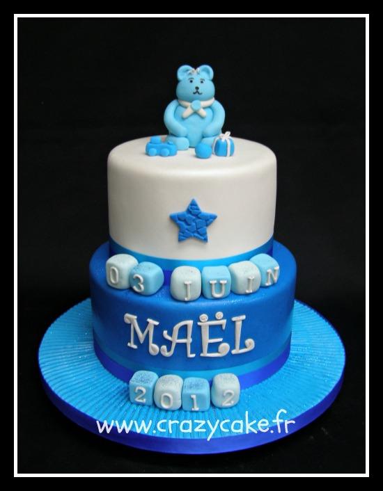 Gâteaux de baptême by Crazy Cake