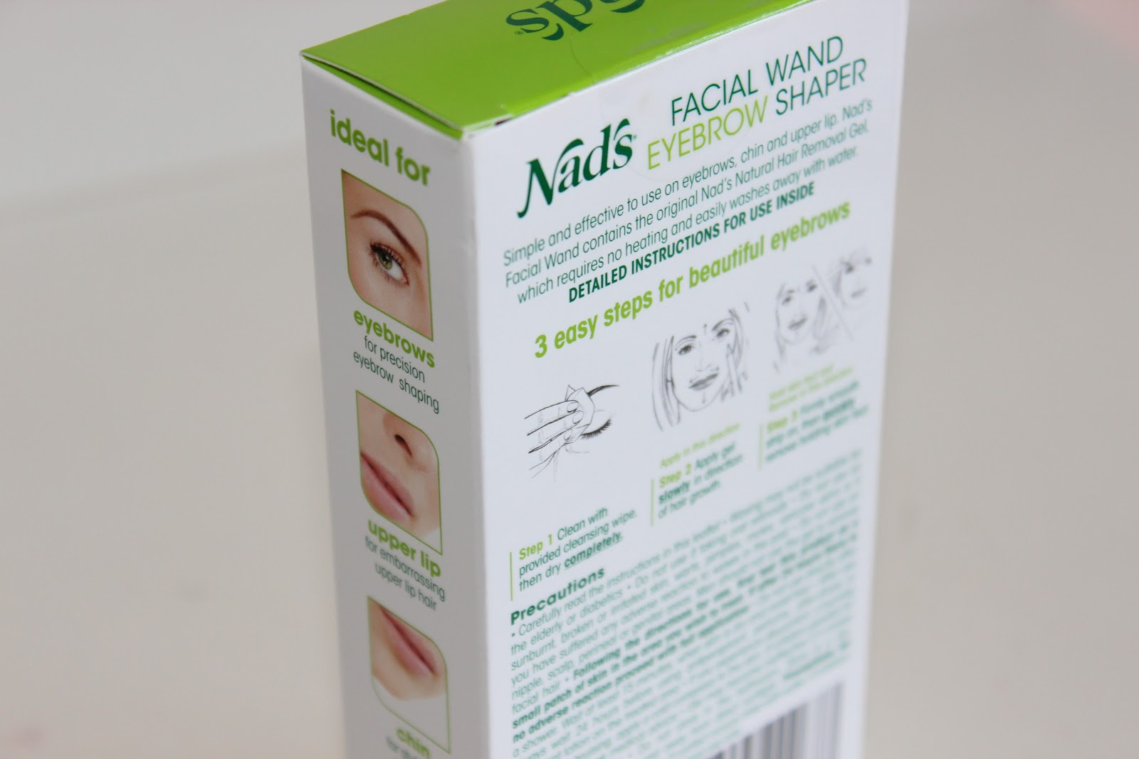 Nads Facial Wand Eyebrow Shaper Belles Boutique Uk Beauty