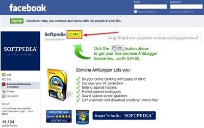 Zemana AntiLogger: Sekarang Bisa Anda Dapatkan Secara Gratis Melalui Fan Page Softpedia