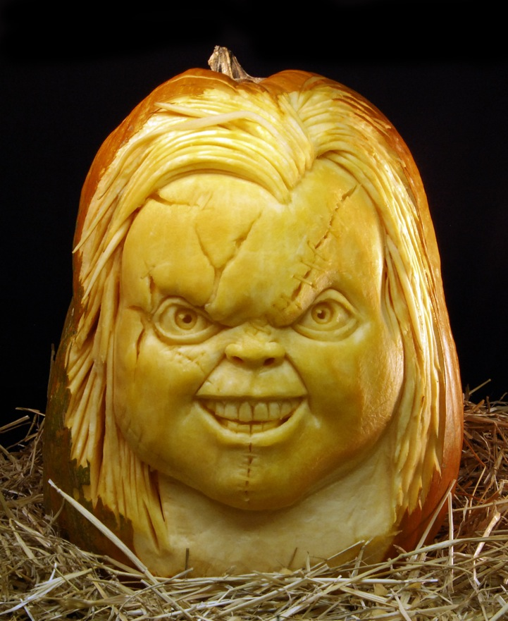 Pics scary halloween pumpkin carvings by ray villafane