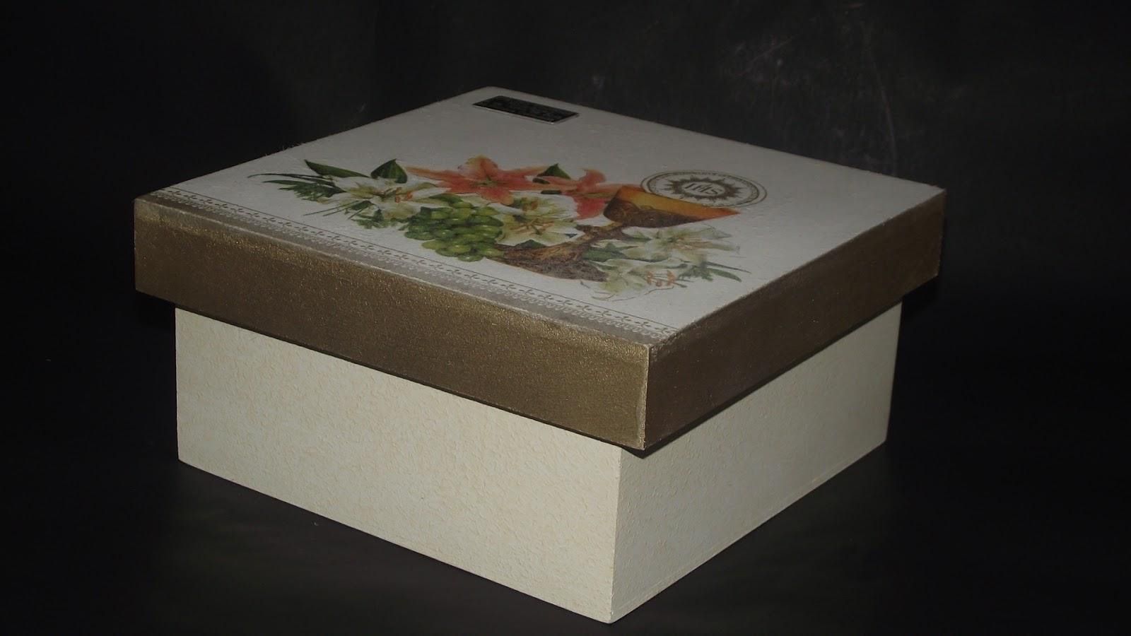 Cajas decorativas marbec caja de 4 divisiones primera - Cajas de madera decorativas ...