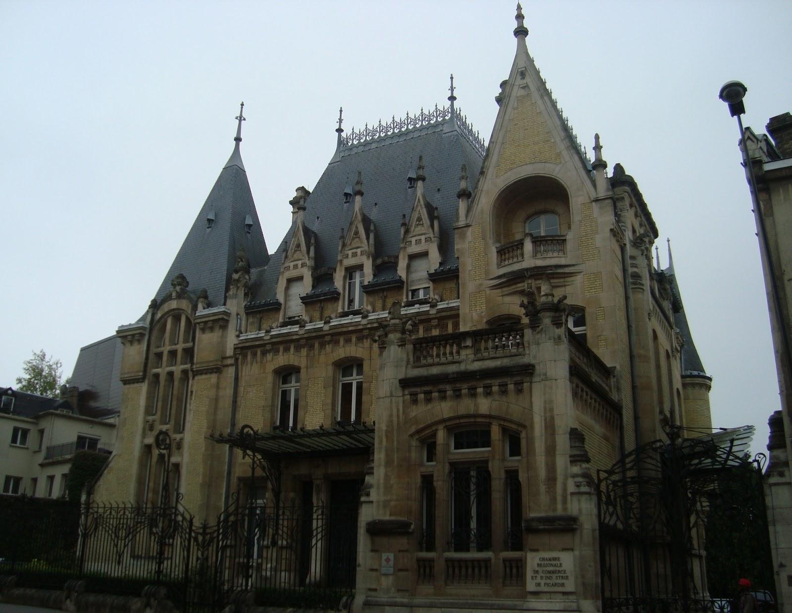 Paseos art nouveau h tel bouctot vagniez architecte for Architecture neo gothique