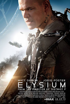 Elysium Matt Damon Poster