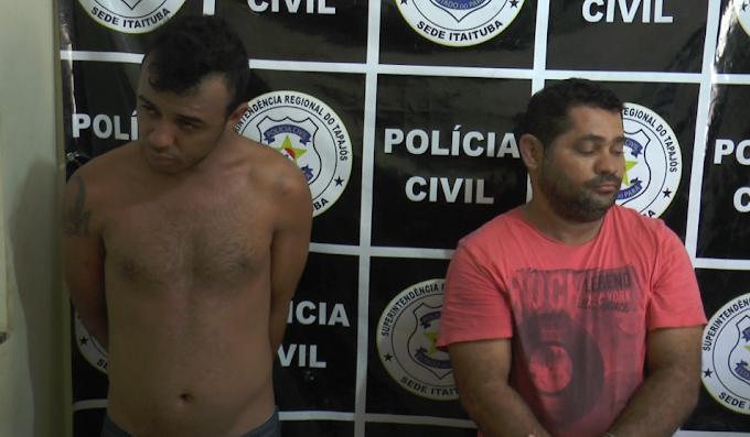 ACUSADOS DE ASSALTOS EM ITAITUBA SÃO PRESOS.