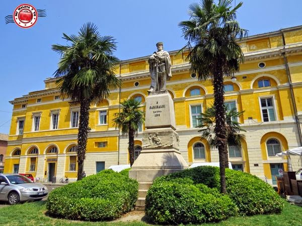 Rávena - Plaza Garibaldi