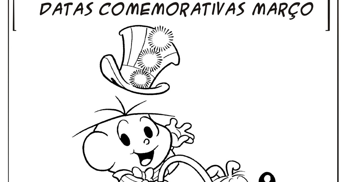 Fabuloso Datas Comemorativas Mês de Março | Ideia Criativa - Gi Barbosa  TO76
