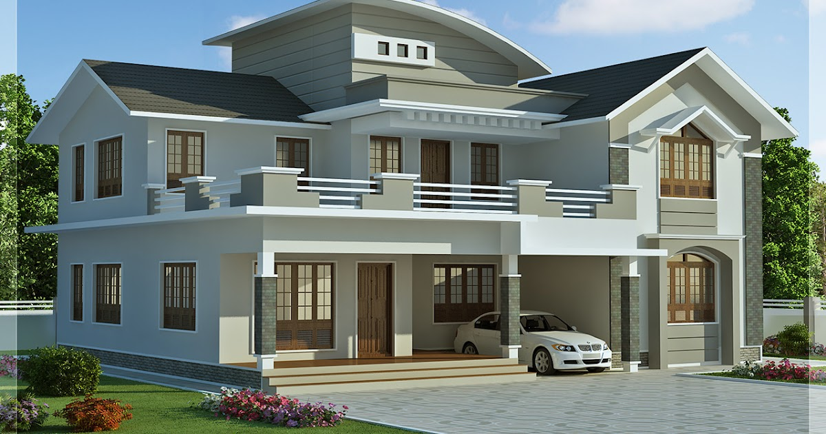 488 Sqfeet 48 Bedroom Villa Design Kerala Home Design And Floor Interesting New Homes Styles Design