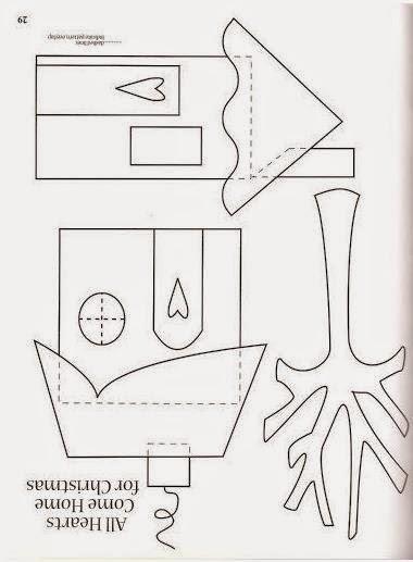Moldes de casitas para hacer cojines lodijoella - Patchwork en casa patrones ...