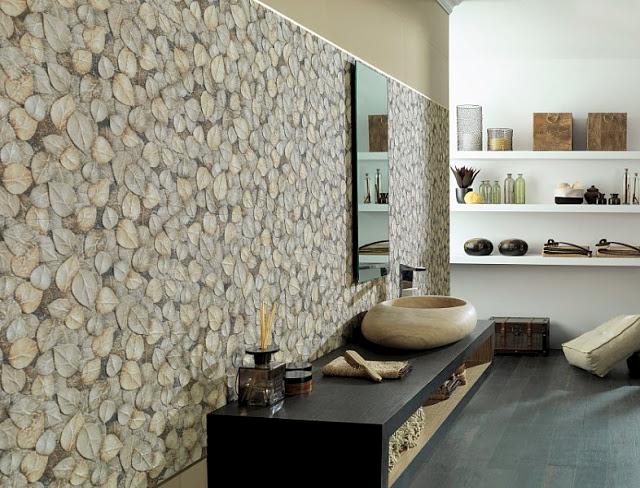 Marzua: Relieves y texturas para paredes Porcelanosa